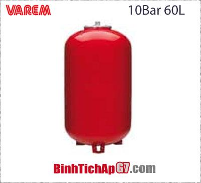 Bình giãn nở Varem 10 bar - 60Lit
