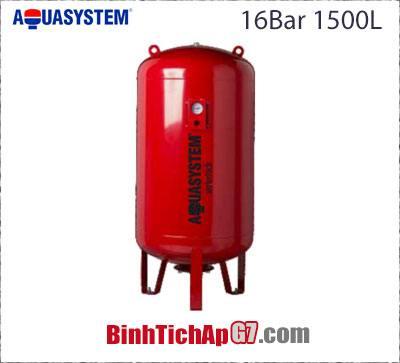 Bình tích áp Aquasystem 16 bar - 1500Lít