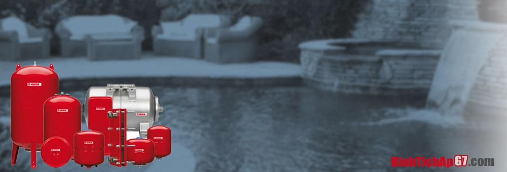 Bình tích áp Varem, Aquasystem nhập khẩu từ Ý
