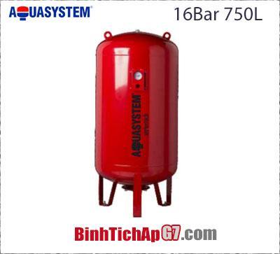 Bình tích áp Aquasystem 16 bar - 750Lít
