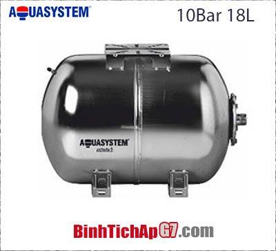 Bình tích áp Aquasystem AHX18 18 lít 10 bar