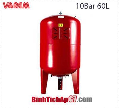 Bình tích áp Varem 10 bar 60L