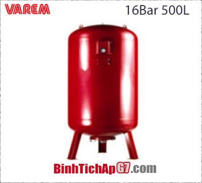 Bình tích áp Varem 16 bar 500L